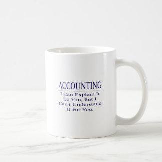 Accounting Joke .. Explain Not Understand Coffee Mug