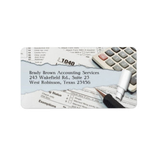 Accounting Label/Return Address Label