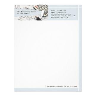Accounting Letterhead