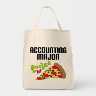 Accounting Major Gift (Pizza) Tote Bag