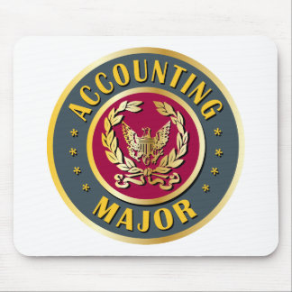Accounting Major Mouse Pad