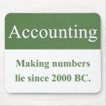 Accounting Mousepad