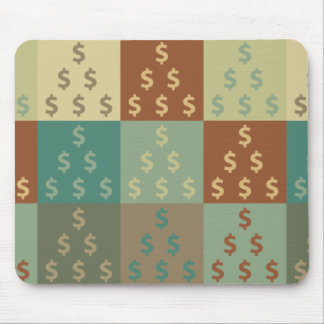 Accounting Pop Art Mouse Pad