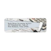 Accounting Return Address Label