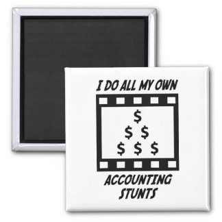 Accounting Stunts Magnet