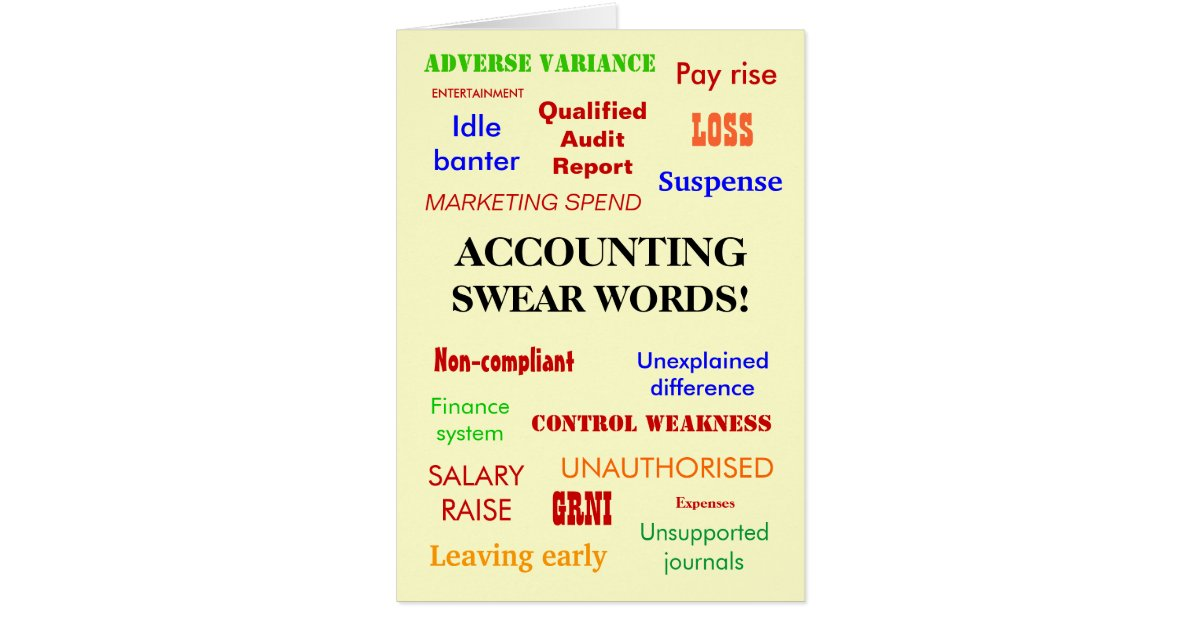Accountant Birthday Cards Greeting Photo Cards – Birthday Greeting Words