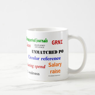 Accounting Swear Words!! Coffee Mug