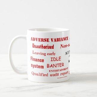 Rude work mug for accountant
