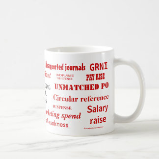 Accounting Swear Words Rude Mug