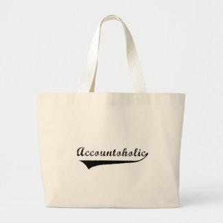 Accountoholic Large Tote Bag