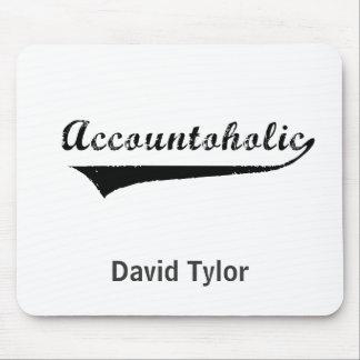 Accountoholic Mouse Pad