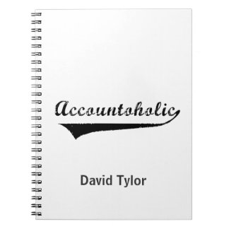 Accountoholic Notebook