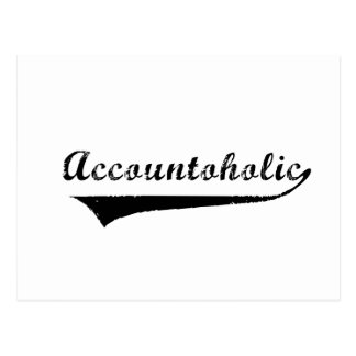 Accountoholic Postcard