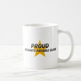 ACCOUNTS PAYABLE CLERK1 CLASSIC WHITE COFFEE MUG