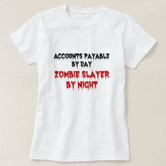 Accounts Payable Zombie Slayer T-Shirt