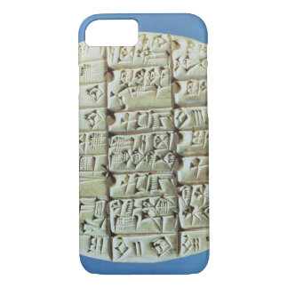 Accounts Table with cuneiform script, c.2400 BC (t iPhone 7 Case