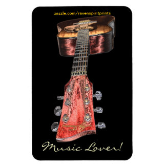 Accoustic Guitar Music-lover's Flexi Magnet