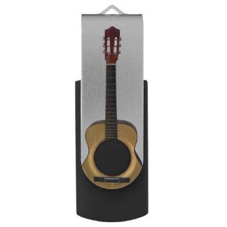 Accoustic Guitar Swivel USB 2.0 Flash Drive