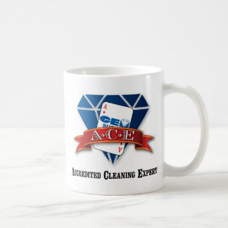 Accredited Cleaning Expert Classic White Coffee Mug