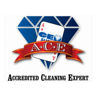 Accredited Cleaning Expert Postcard