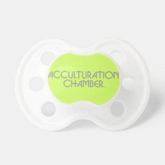 """Acculturation Chamber"" Baby Pacifier"