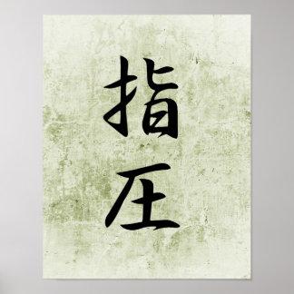 Accupressure - Shiatsu Poster