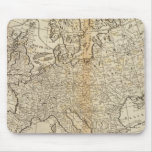 Accurate Map of Europe Mouse Pad
