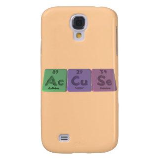 Accuse-Ac-Cu-Se-Actinium-Copper-Selenium Samsung S4 Case