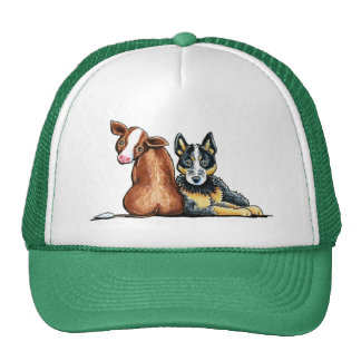 ACD and Brown Cow Trucker Hats