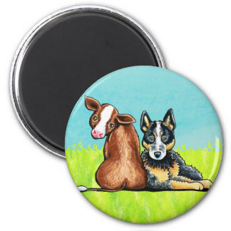 ACD and Brown Cow Magnet
