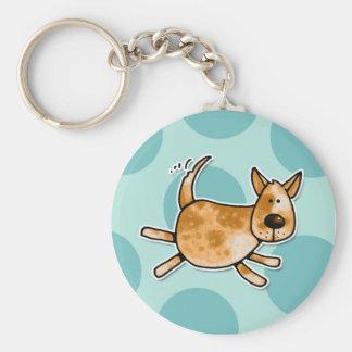 ACD doggy Basic Round Button Keychain