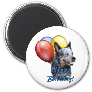 ACD Happy Birthday Balloons Refrigerator Magnet