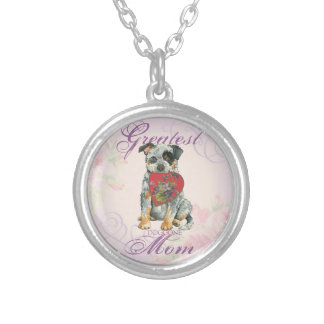 ACD Heart Mom Silver Plated Necklace