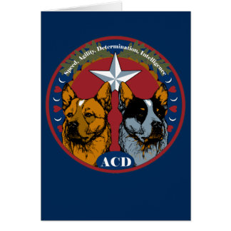 ACD: Speed, Agility, Determination, Intelligence Card