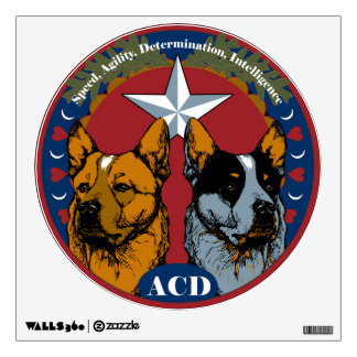 ACD: Speed, Agility, Determination, Intelligence Wall Graphics