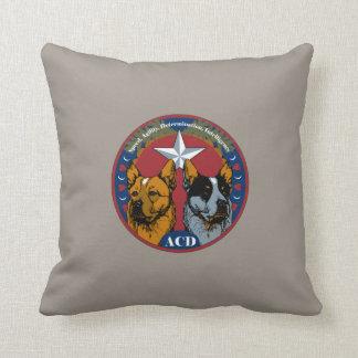 ACD: Velocidad, agilidad, determinación, inteligen Cojin