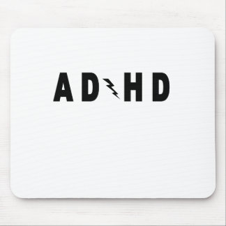 ACDC ADHD Highway to Hey Look a Squirrel! tee.png Mouse Pad