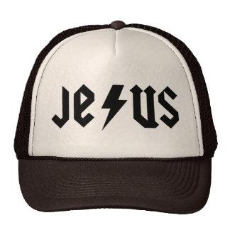 ACDC Jesus Trucker Hat