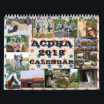 "ACDHA 2018 Calendar<br><div class=""desc"">The exclusive calendar for the American Cream Draft Horse Association. Photos of members involved with their horses and gives an idea of how versatile these horses are. Not an oversized draft horse that originated in Iowa before the age of the tractor. Sales of this calendar goes to help the association...</div>"