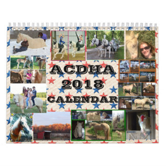 ACDHA 2018 Calendar