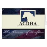 ACDHA logo Note Card