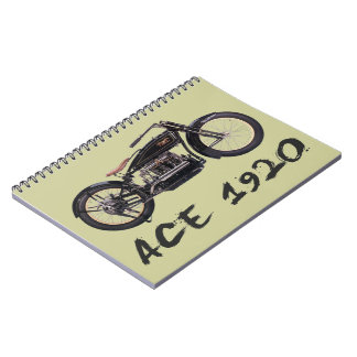 Ace 1920 spiral note books