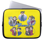 Ace Attorney Chibi's Computer Sleeve