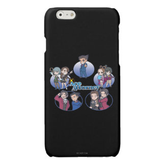 Ace Attorney Chibi's Glossy iPhone 6 Case