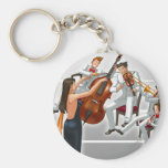 Ace Attorney Orchestra Key Chains