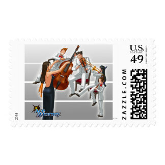 Ace Attorney Orchestra Postage Stamp