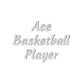 Ace Basketball Player Embroidered Shirt