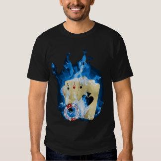 Ace Blue Fire T-Shirt