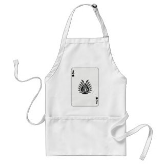 Ace Card For Boss Adult Apron