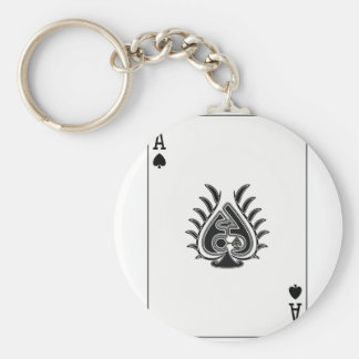 Ace Card For Boss Keychain